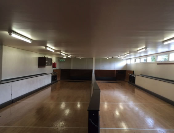 LED Lighting conversion in Skittle Alley Bristol